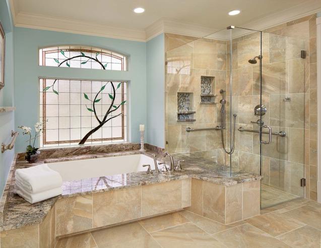 Фото дизайну ванних кімнат