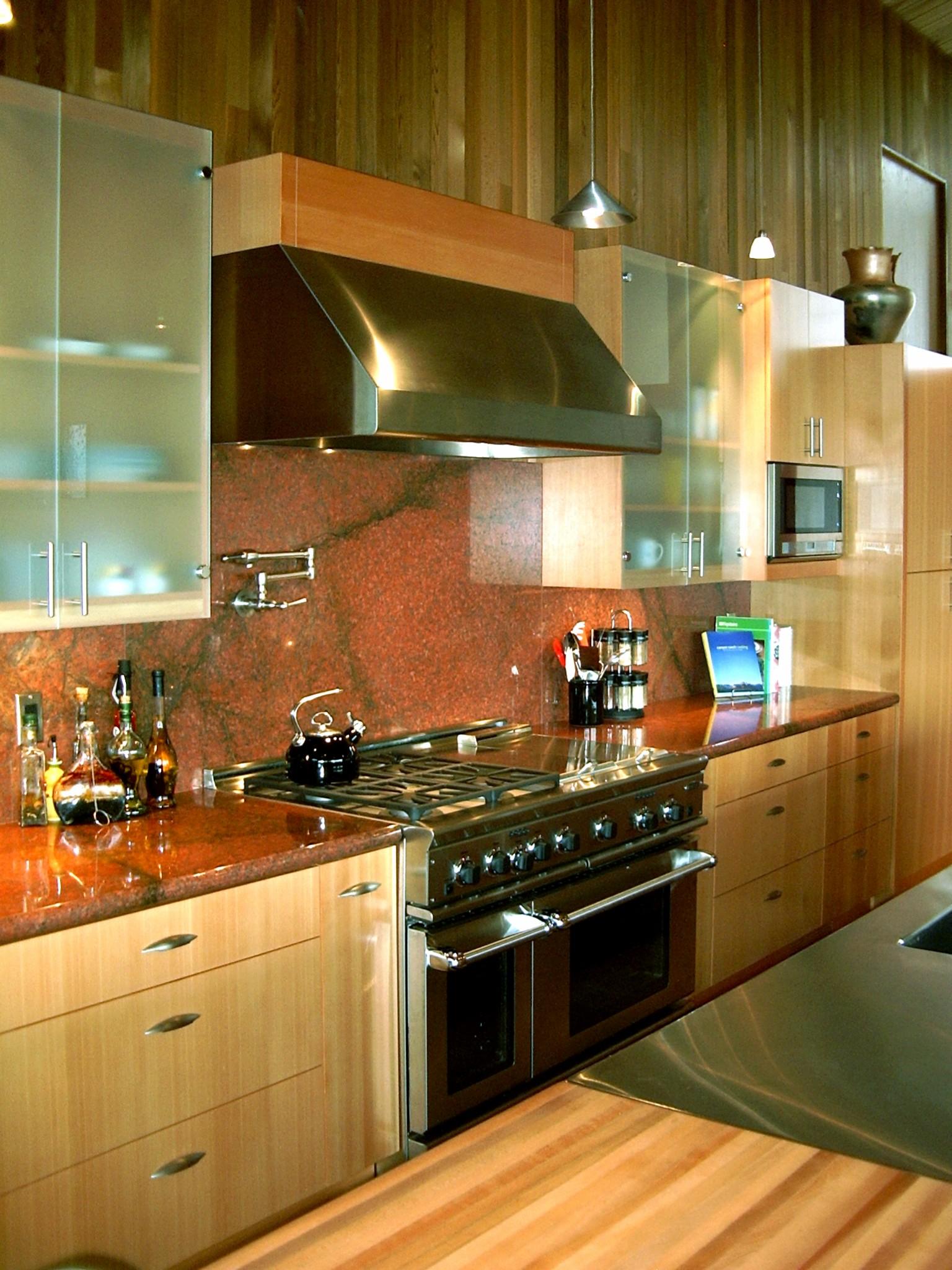 Silver Red Granite : Granite kitchen countertops silver pearl