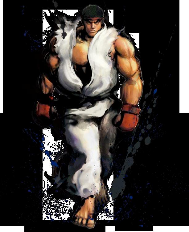 Scorpion Mortal Kombat Vs Ryu Street Fighter