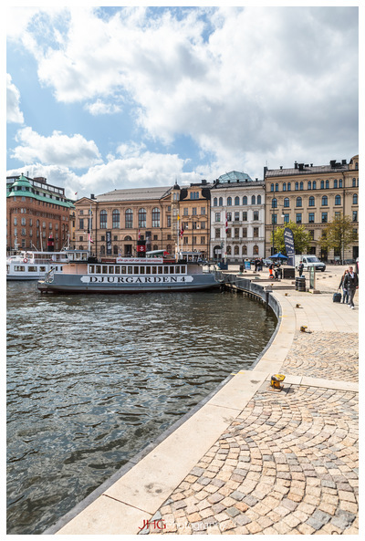 Stockholm Sweden by boat Tour JHGPhoto Photography Canon 5D MKII City Cityscape Urban Sea Water Architecture