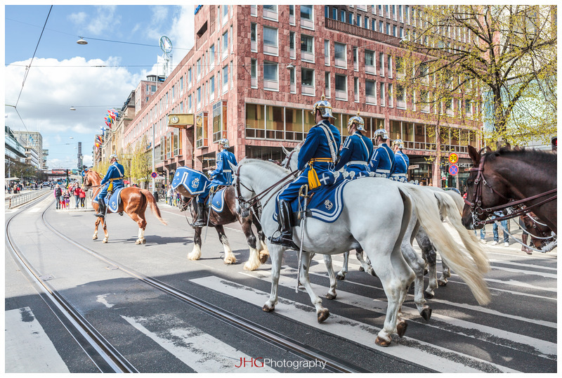 Stockholm Sweden Royal Guard Parade JHGphoto JHG Photography Urban City Cityscape Canon 5D MKII Streetlife Architecture Downtown