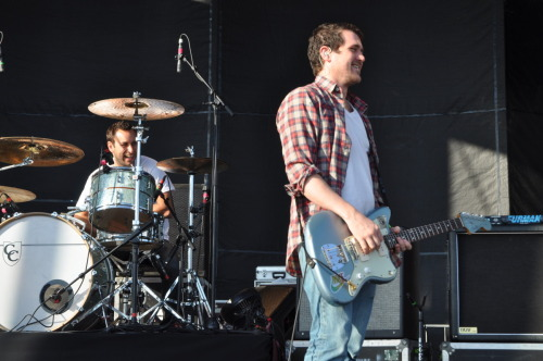 Brand New's Jesse Lacey smiling