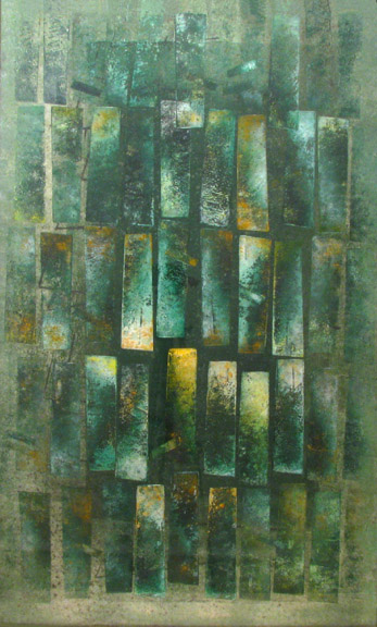 &lt;p&gt;Harry Bertoia&lt;br /&gt;Untitled, Green&lt;br /&gt;c. 1950&#39;s&lt;br /&gt;Ink on Paper&lt;br /&gt;40&quot; x 25&quot;&lt;/p&gt;<br/>&lt;p&gt;&lt;em&gt;Placed in a Private Collection&lt;/em&gt;&lt;/p&gt;
