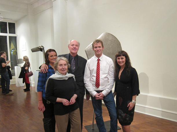 &lt;p&gt;&lt;span style=&quot;font-size: 80%;&quot;&gt;Anthony, Lorraine, and Audrey Seraphin with David Borgerding and his wife.&lt;br /&gt;&lt;em&gt;Recent Sculpture&lt;br /&gt;&lt;/em&gt;&lt;/span&gt;&lt;/p&gt;<br/>&lt;p&gt;&lt;span style=&quot;font-size: 80%;&quot;&gt;Seraphin Gallery, Philadelphia, PA&nbsp;&lt;/span&gt;&lt;/p&gt;