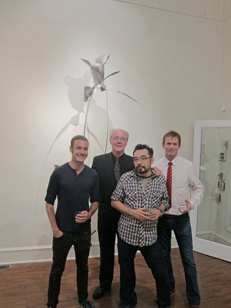 &lt;p&gt;&lt;span style=&quot;font-size: 80%;&quot;&gt;Anthony Seraphin with artists, Robert Goodman, Hiro Sakaguchi, and David Borgerding&lt;br /&gt;&lt;em&gt;Recent Sculpture&lt;br /&gt;&lt;/em&gt;&lt;/span&gt;&lt;/p&gt;<br/>&lt;p&gt;&lt;span style=&quot;font-size: 80%;&quot;&gt;Seraphin Gallery, Philadelphia, PA&nbsp;&lt;/span&gt;&lt;/p&gt;