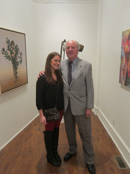 "<p><span style=""font-size: 80%;"">Director, Anthony Seraphin, with his daughter, Audrey. <br /><br />Joan Wadleigh Curran<br /><em>Accumulation<br /></em><br />Seraphin Gallery, Philadelphia, PA </span></p>"