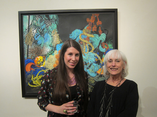 &lt;p&gt;&lt;span style=&quot;font-size: 80%;&quot;&gt;Jennifer Bickel with artist, Joan Wadleigh Curran&lt;/span&gt;&lt;/p&gt;<br/>&lt;p&gt;&lt;span style=&quot;font-size: 80%;&quot;&gt;Joan Wadleigh Curran&lt;br /&gt;&lt;em&gt;Accumulation&lt;br /&gt;&lt;/em&gt;&lt;br /&gt;Seraphin Gallery, Philadelphia, PA&nbsp;&lt;/span&gt;&lt;/p&gt;