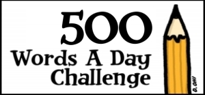 500 words a day