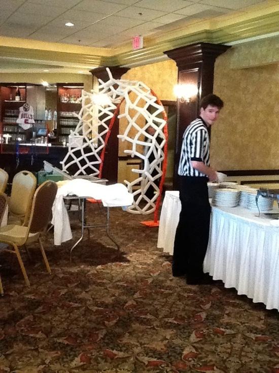 Basketball Theme Bar Mitzvah Gold Eventplanner Photogallery