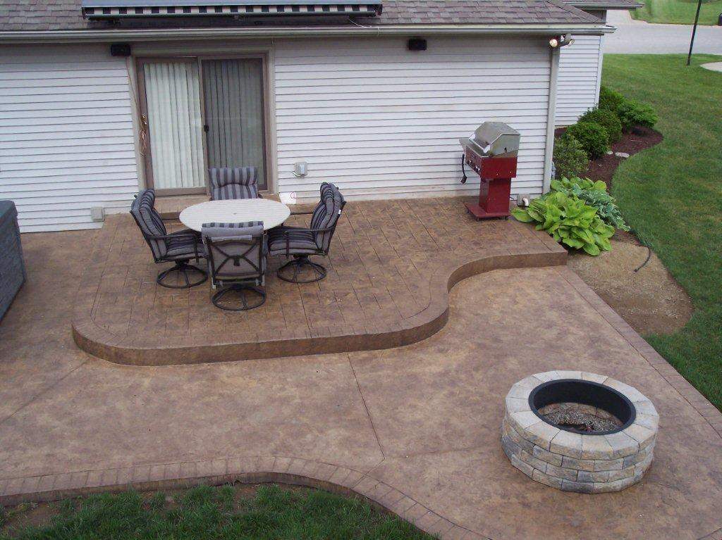 patio (18)jpg  Custom Back Yard Stamping Concrete Patios