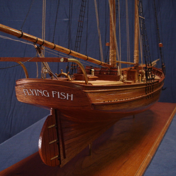 The down east collection the gallery the flying fish for Flying fish fleet
