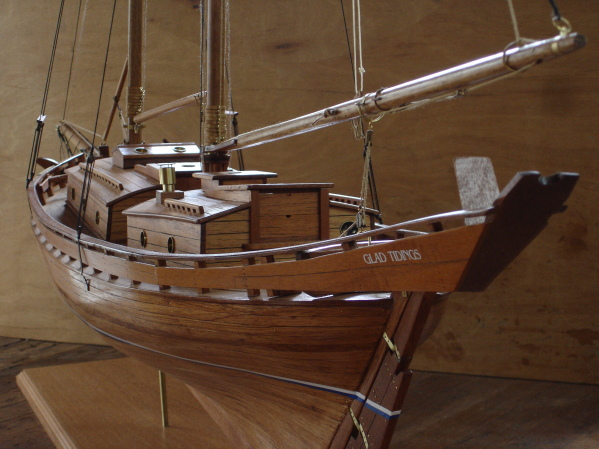 """The Down East Collection - The Gallery - The Schooner """"GLAD TIDINGS"""""""
