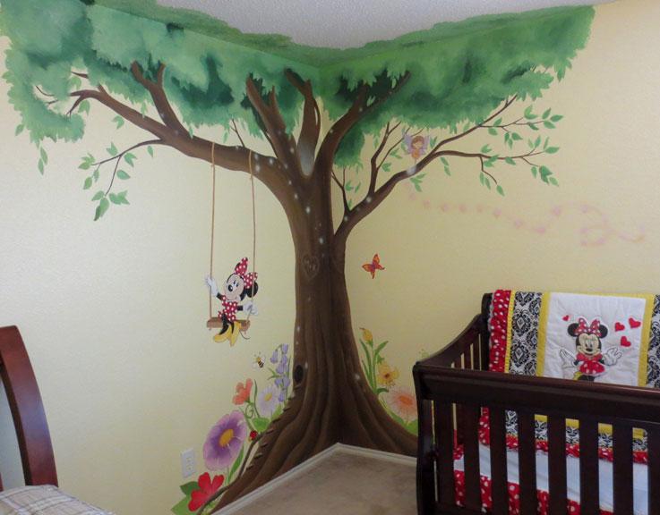 Nursery Murals Leila S Art Corner Face Painting