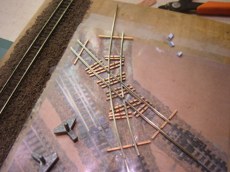 Curved diamond crossings for the M&N RR - Part 3 - Coxy's N