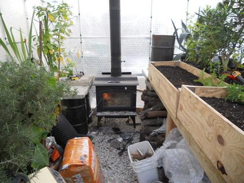 Heating A Greenhouse Microfarm Organic Gardens Blog