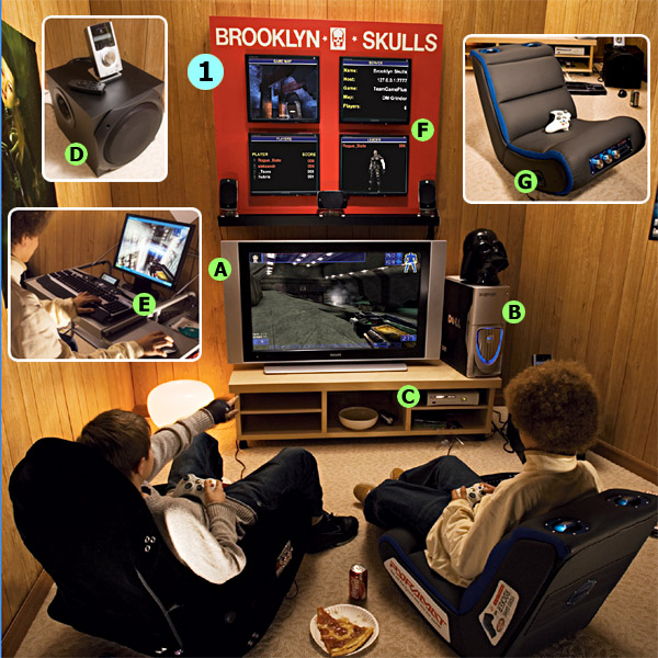 Favorites2share design2share home decorating interior - Game room ideas for small rooms ...