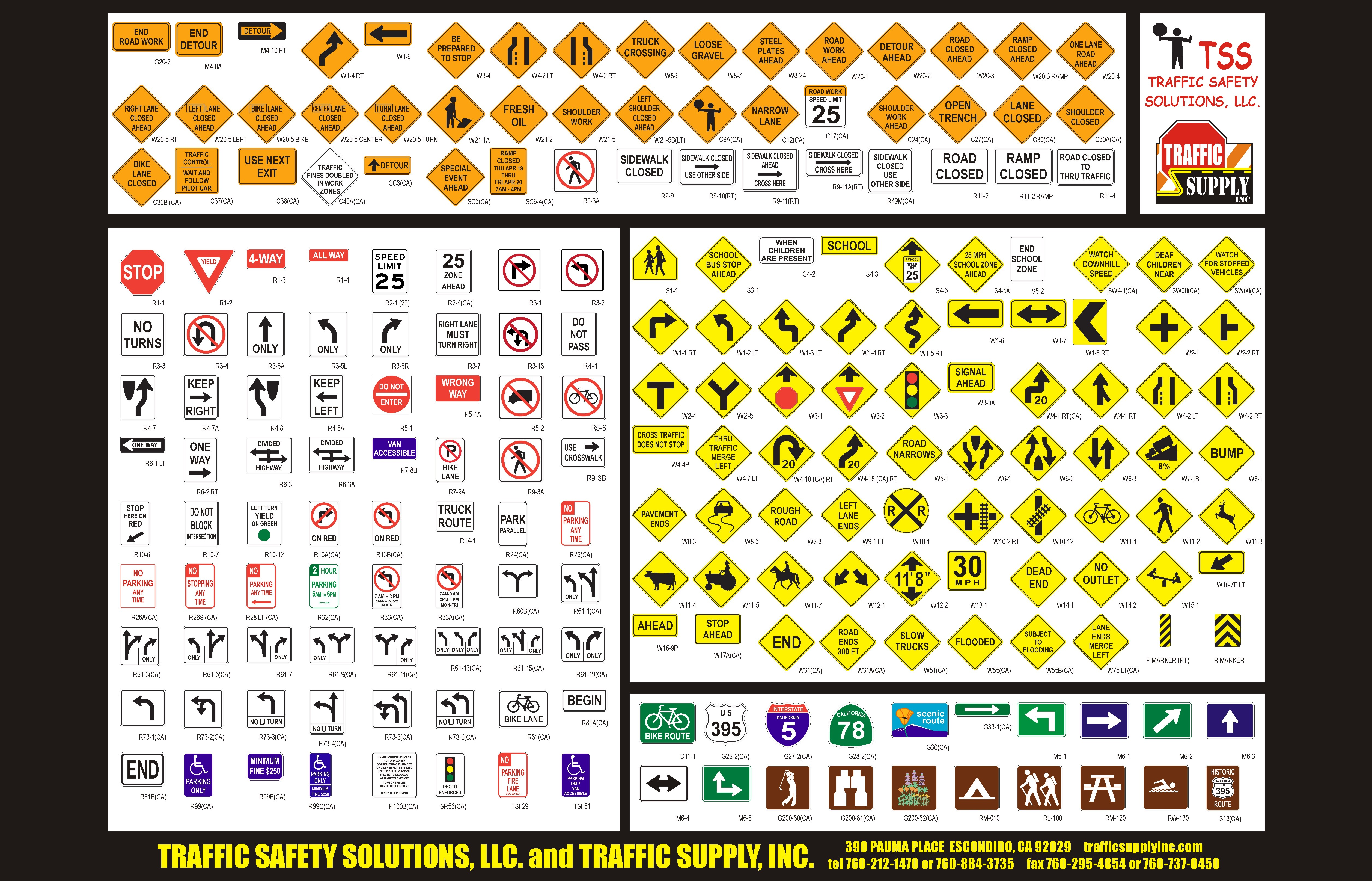 Dmv road signs test ca spanish dmv road signs chart don t change the dmv eye chart nvjuhfo Gallery