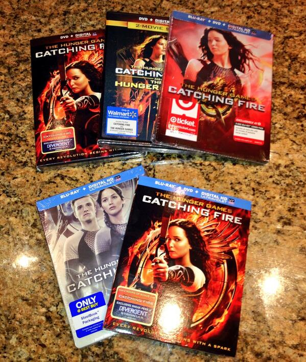 Which 'Catching Fire' DVD or Blu-Ray Version Should You ...