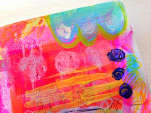 raemissigman - Blog - art stuff: 15 minutes of mixed media