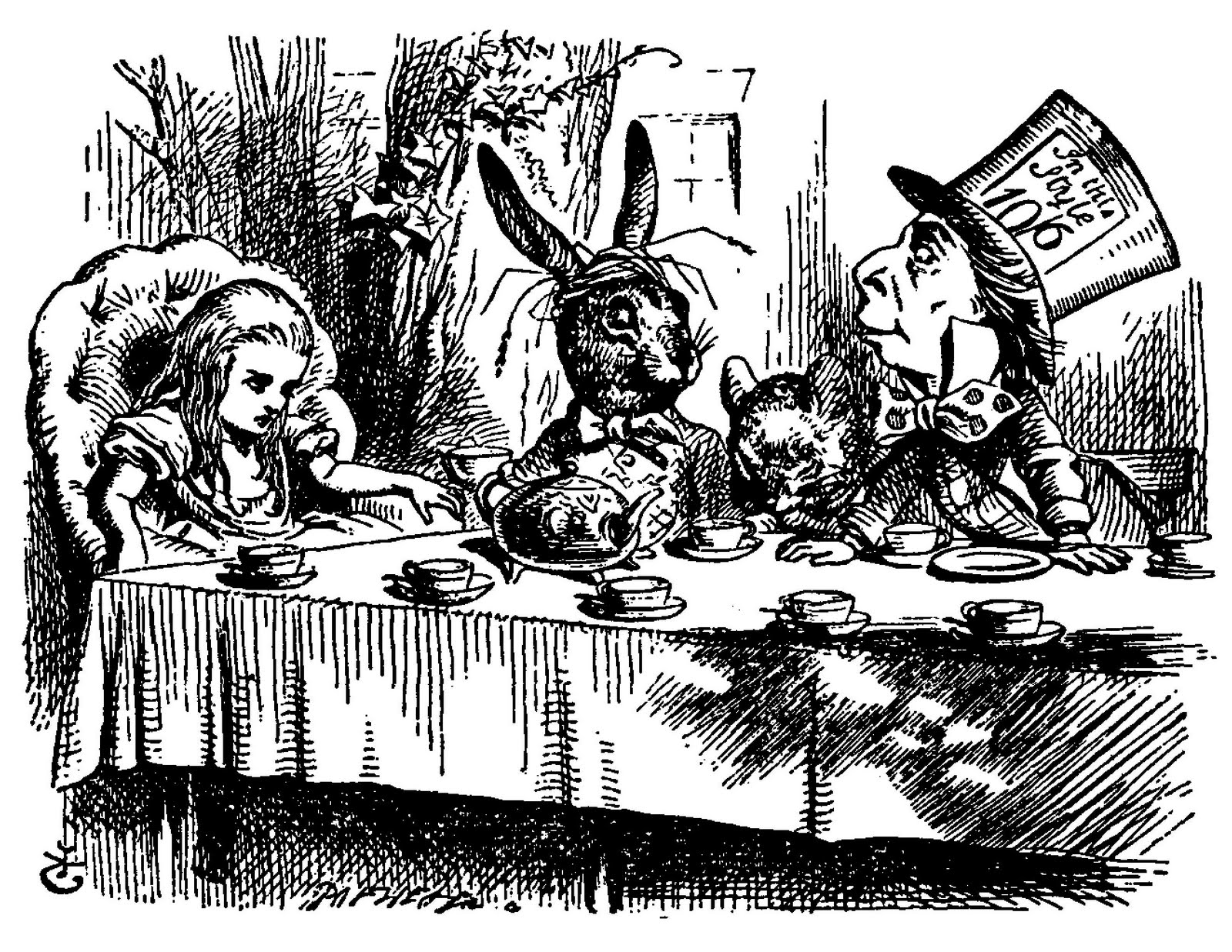 ENG329: Alice in Wonderland. Susina Ghost of the Talking