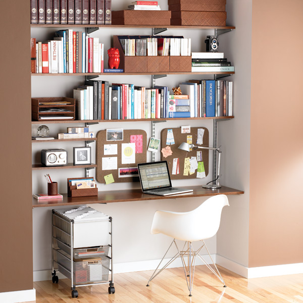 office wall shelves andrea s innovative interiors andrea s crafty spaces 23974