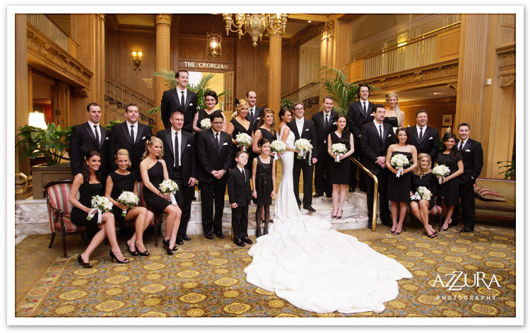 Daily Shot Of Inspiration Sunday February 21st Fairmont Olympic Hotel Wedding
