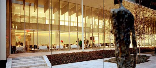 the modern dining room nyc   The Modern (Dining Room) - Home - New York Journal