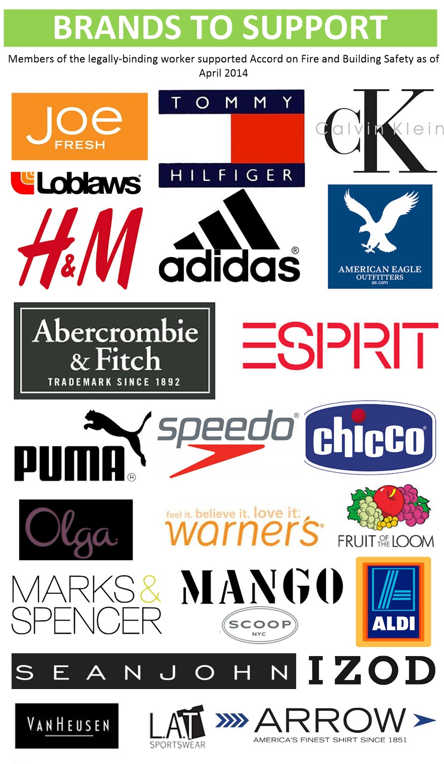 mass production clothing companies