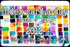 Summer Art Fun: Index Card a Day