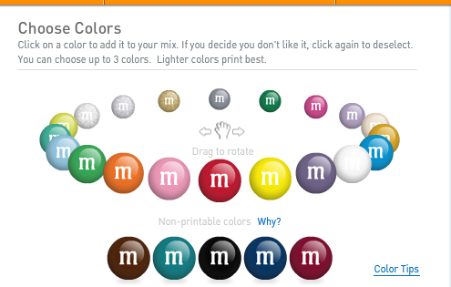 144d4205 It's a pretty neat idea, choose the colors and combinations you like the  best, have your own ...