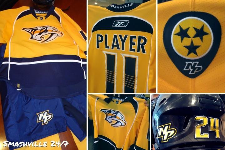 Predators unveil their new home uniform for 2011-12   Smashville 24 7 a55f47492