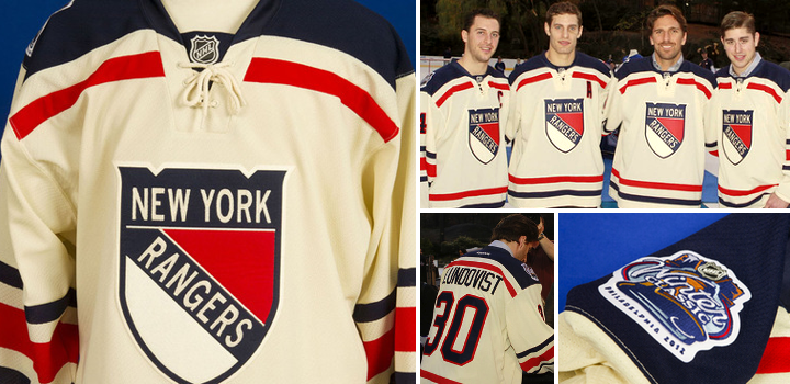 finest selection 307e7 ede18 Rangers Unveil Winter Classic Threads - Blog - icethetics.info