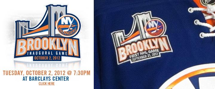 Special Brooklyn patch seen on jerseys in team store 275e3cfa1