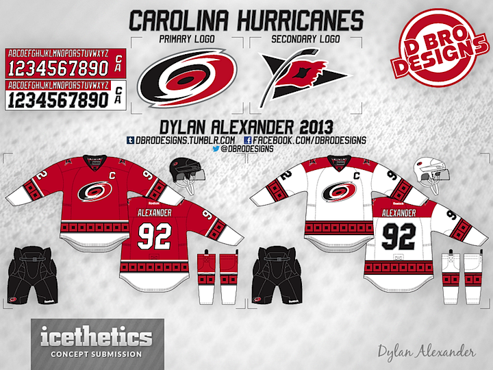 ccd60028b ... style and he s the next to be featured in this special week of concept  posts. First we get a look at some third jersey options for the Blackhawks.