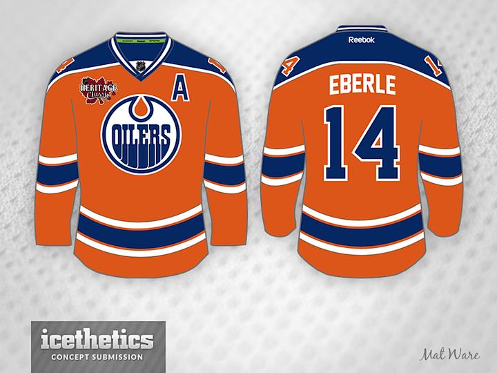 online retailer 5fc6b c355a new oilers orange jersey