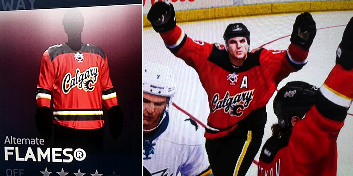 Did NHL14 Leak New Flames Third  - Blog - icethetics.info bf8fff49c