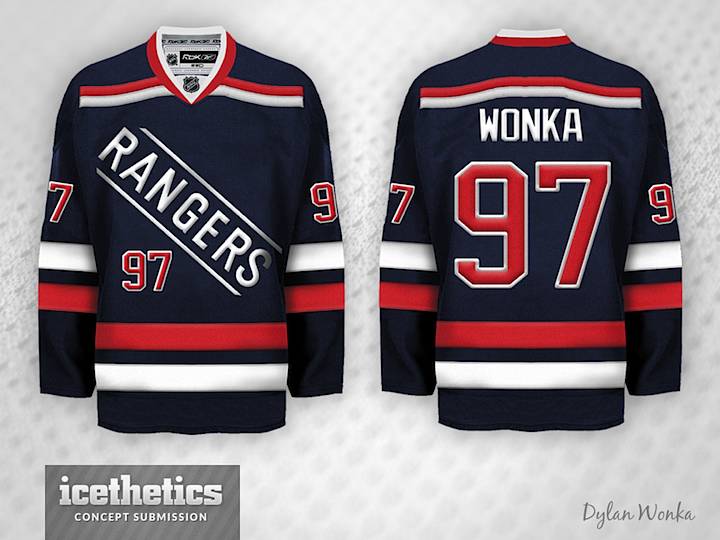 6b3ec049bd1 It s Stadium Series Week on the Concepts page and Dylan Wonka gets us over  the hump with three jerseys for the Yankee Stadium games. His take on the  Rangers ...