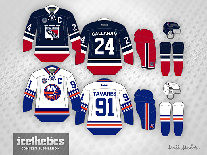 d6c874f27a0 Stadium Series Week is winding down with another day of New York-centric  concepts. Matt Madore presents this set for the Rangers Islanders meeting.