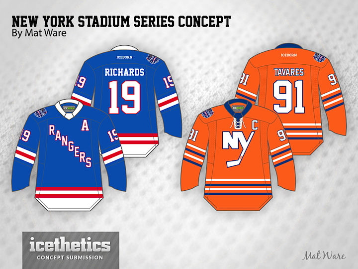 54f6a9afa70 And the prolific Mat Ware imagines a more colorful assembly of these two  teams. Orange is becoming a very popular base for jersey concepts these  days.
