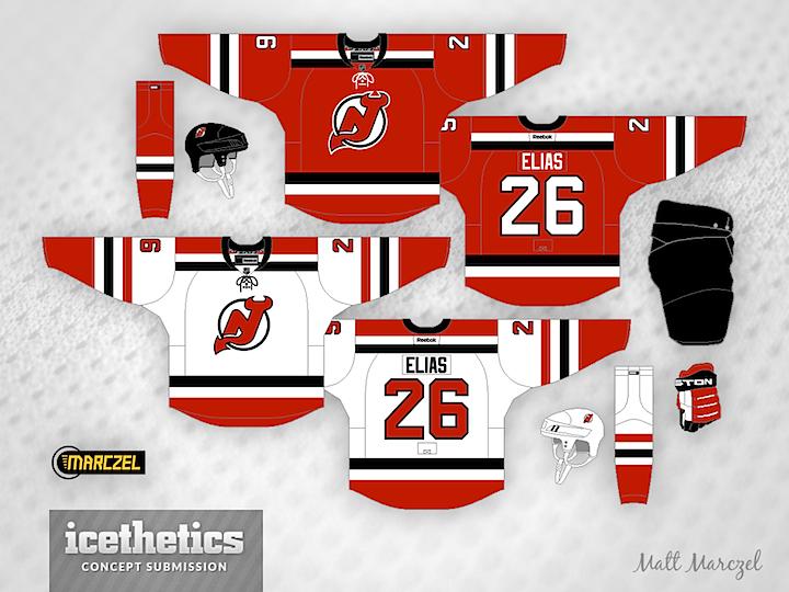 best website 8c8b4 fb25e get new jersey devils jersey concept 567d3 aa1be