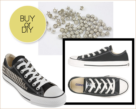 c67fdb331e9e Buy or DIY  Studded Converse - Home - Creature Comforts - daily ...