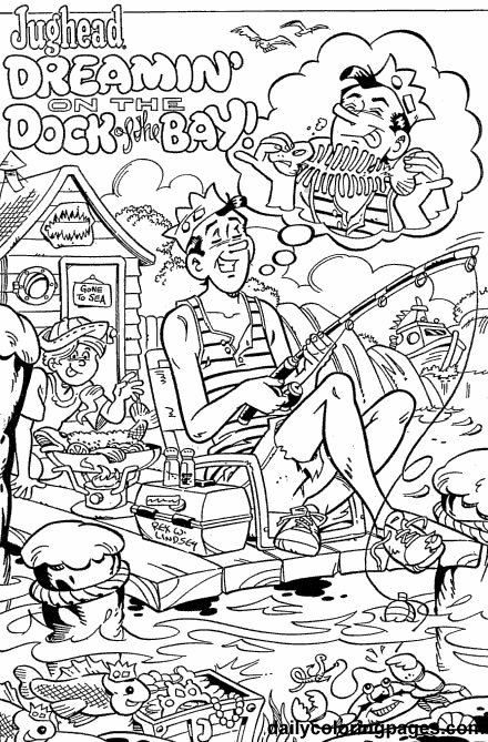 comic book coloring pages free - photo#25