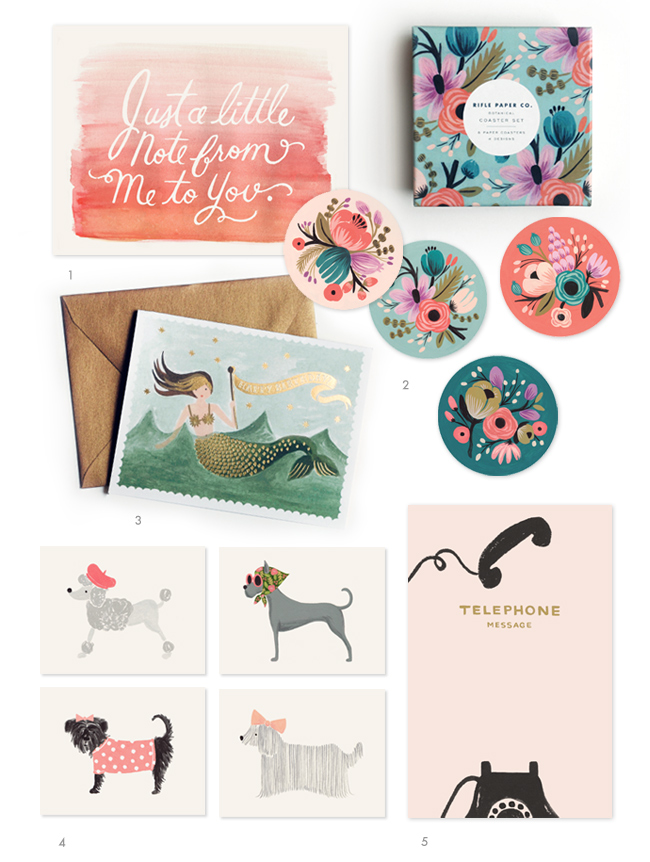 rifle paper co  rifle blog  stationery show preview