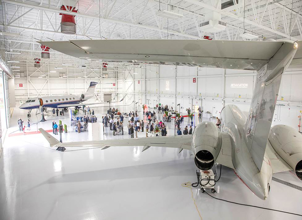 Jet Aviation Celebrates Grand Opening Of New Fbo And
