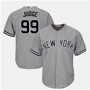 090f1ca64 Aaron Judge hit MLB last season with a blast, setting a rookie home run  record and revitalizing the future of the New York Yankees, which led to  his having ...