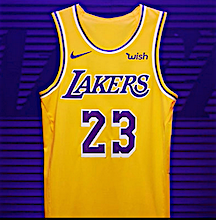 official photos 57cff 08569 NYSportsJournalism.com - LeBron, Lakers Lead NBA Jersey ...