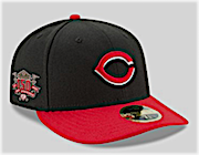 24051dc7d The Reds will wear a special commemorative logo on caps and jerseys in  place of the MLB 150 patch.