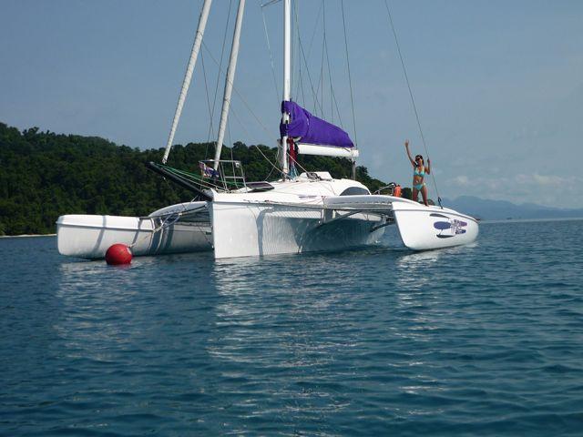 Corsair 37 - Helms Yacht Sales | Corsair Trimarans | Seawind