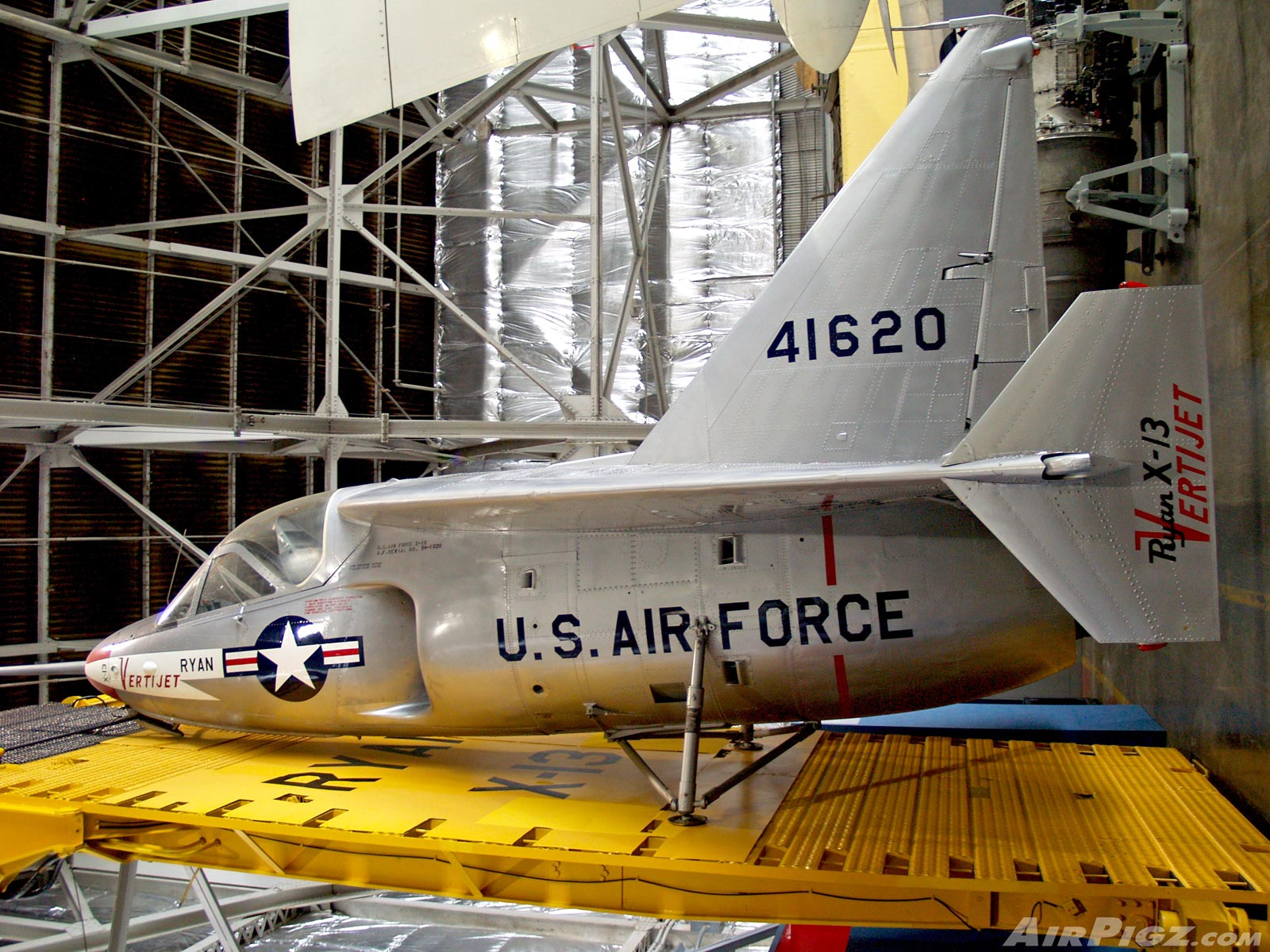 Air Force Museum: Ryan X-13 Vertijet CoolPix 2Fer (+ Video