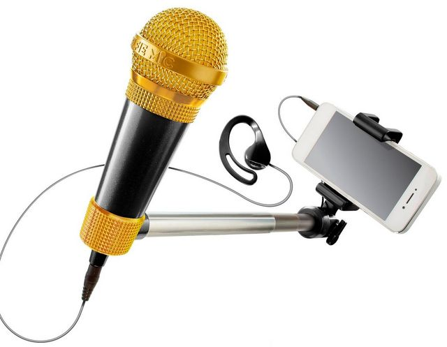 Giz Wiz Biz - Giz Wiz Show Gadgets - SelfieMic, the sing-a-long
